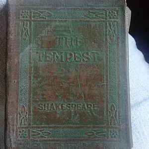 Antique THE TEMPTEST POCKETBOOK SHAKESPEARE'S